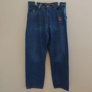Rocawear Men's Distressed Denim Jeans